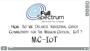 Full Specturm Video on Mission Critical IoT